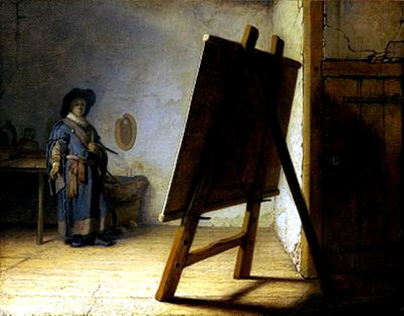 400px-Rembrandt_The_Artist_in_his_studio.jpg