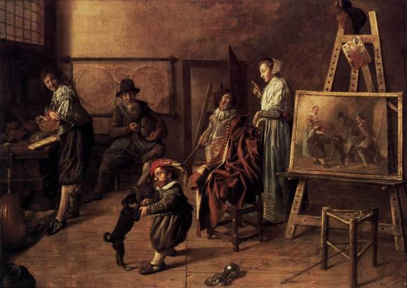 Jan_Miense_Molenaer_-_Painter_in_His_Studio,_Painting_a_Musical_Company_-_WGA16104.jpg