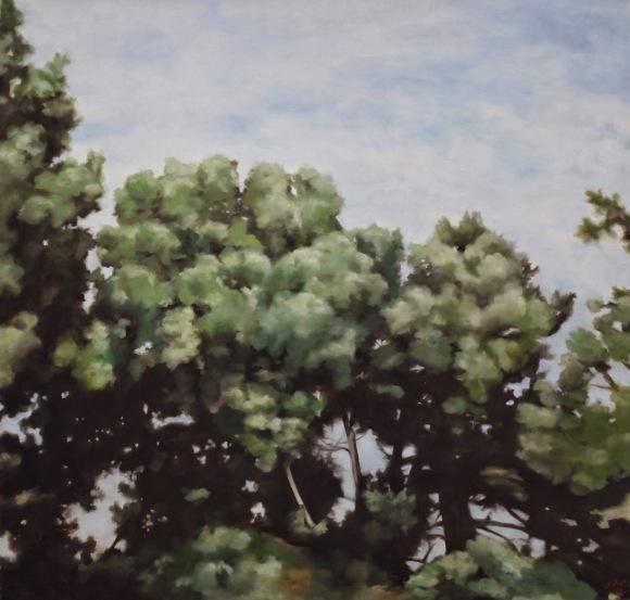 Trees 3 - Oil on Canvas IMG_5045.JPG