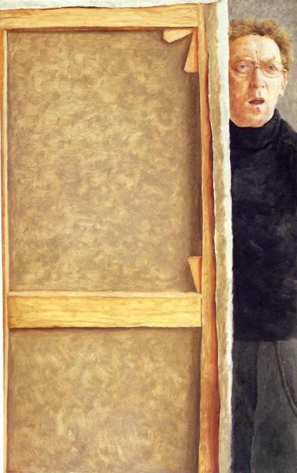 avigdor-arikha-self-portrait