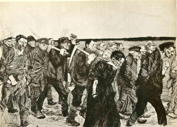 The_March_of_the_Weavers_in_Berlin_-_Käthe_Kollwitz_-_1897
